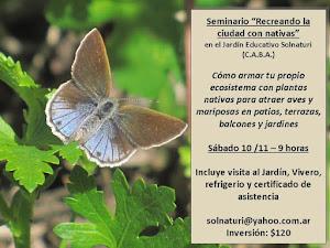 PLANTAS NATIVAS DE BUENOS AIRES Y ALREDEDORES - CURSOS