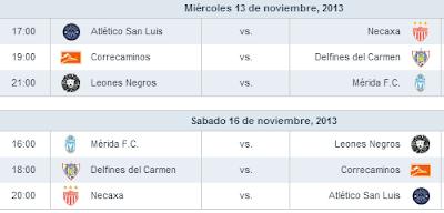 Cuartos de Final Ascenso MX Apertura 2013
