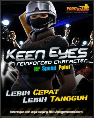 Karakter Point Blank Reinforced Keen Eyes