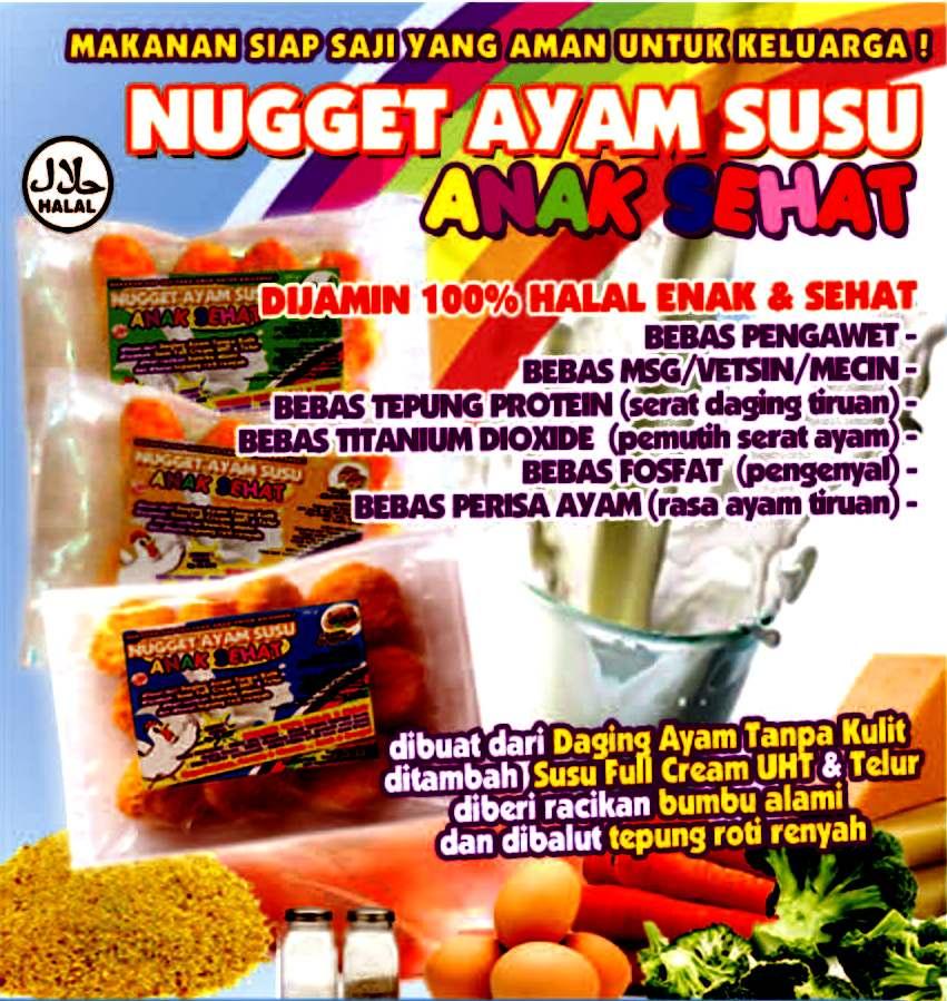Nugget Ayam Brokoli Keju Dessy Mardiana: Bintang Frozen Foods: Nugget SEHAT