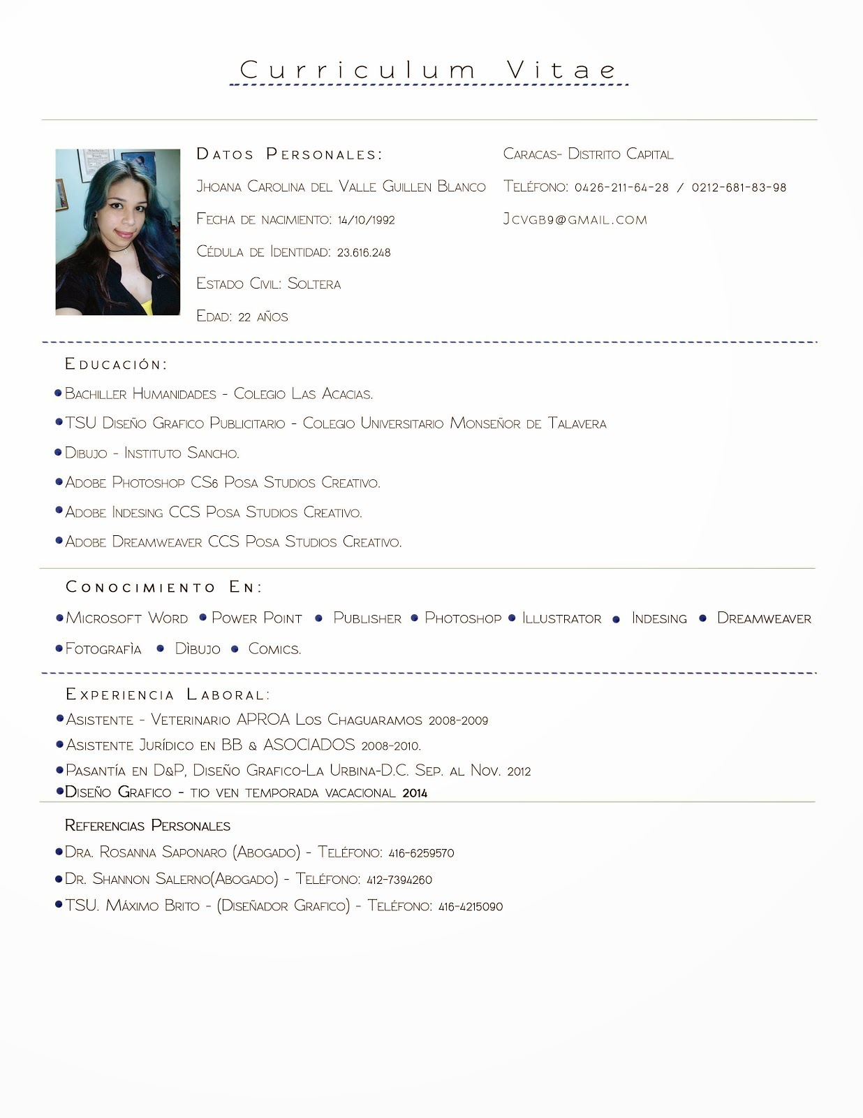 Hermosa Ejemplo De Currículum De Cosmetología Colección - Colección ...