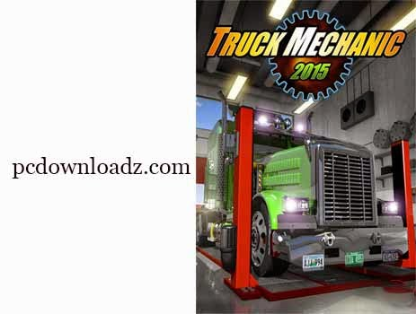 Truck Mechanic Simulator 2015 Free Download for PC