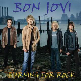 Bon Jovi Burning For Rock 2008 CD Capa