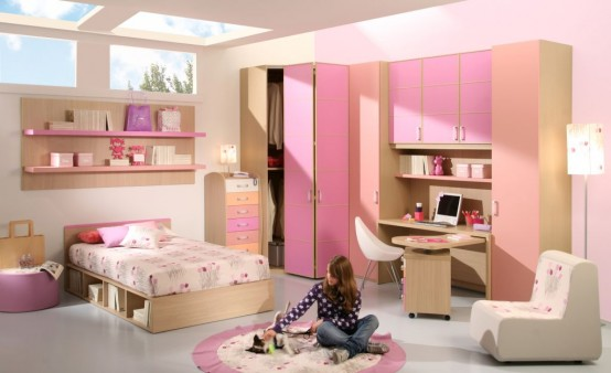 House Designs: 15 Good Ideas For Girls Pink Bedroom