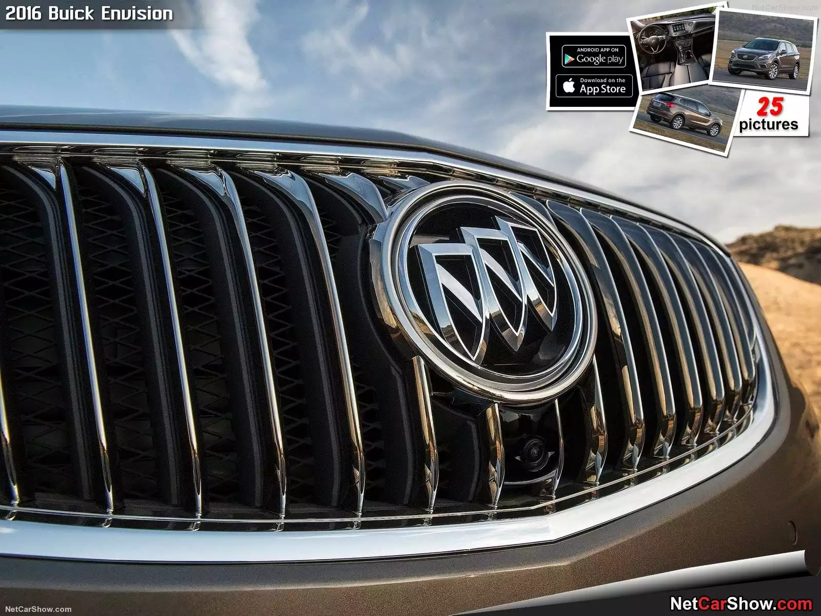 Hình ảnh xe ô tô Buick Envision 2016 & nội ngoại thất