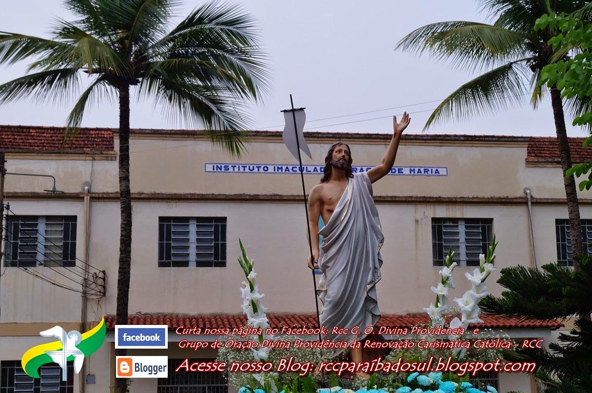 Domingo de Pascoa 20/04/2014: Missa de Páscoa no Seminário