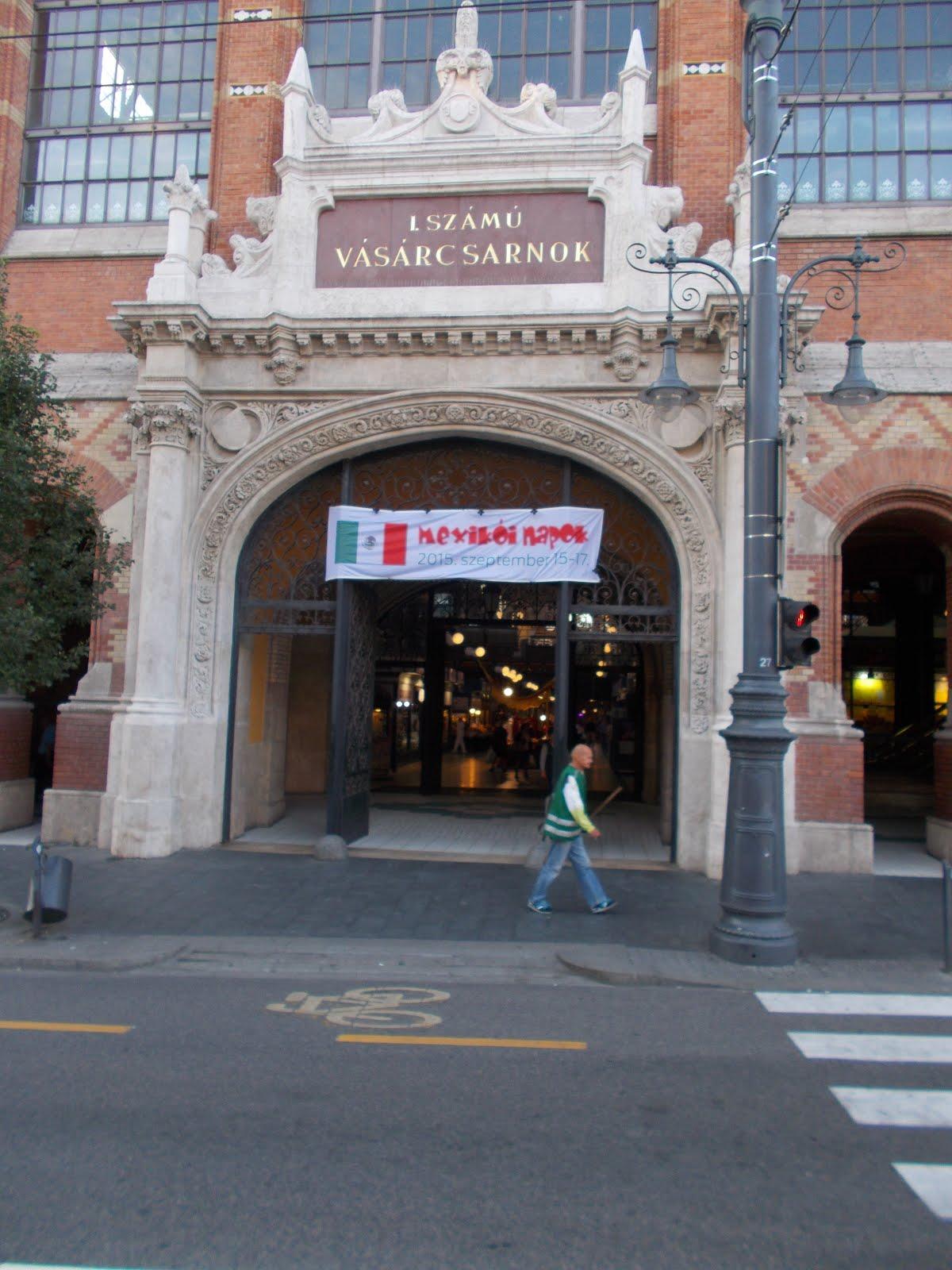 """""""CENTRAL MARKET HALL"""" Entrance."""