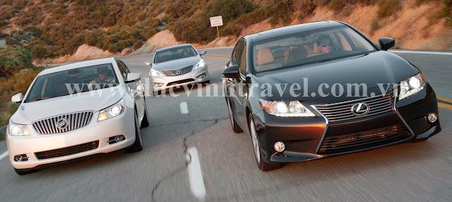 Cho thuê xe VIP Lexus ES350