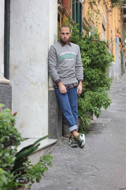 levi's total look uomo