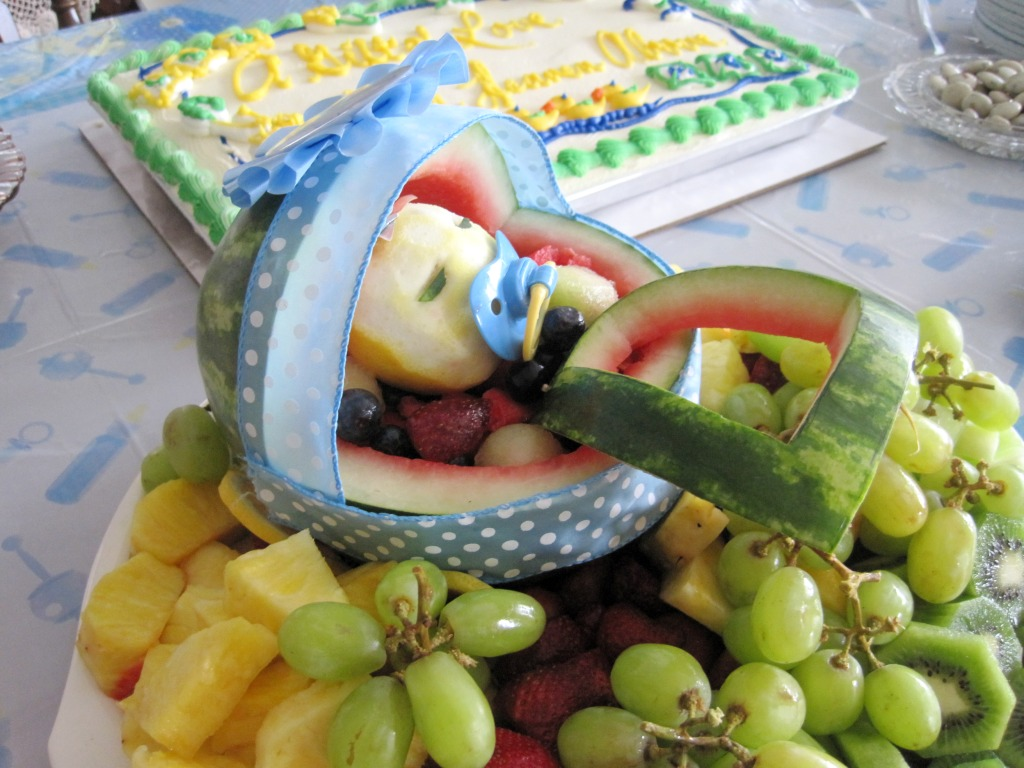 displaying 20 images for baby shower fruit platter