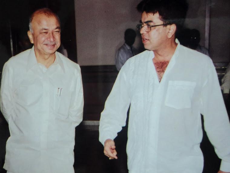 Sushil Kumar Shinde..The Down to Earth Politician and Mukesh Sharma.. The DD Sahyadri make over man