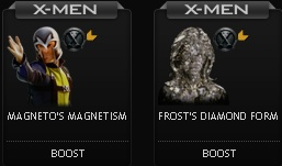 X-Men First Class boosts at Mafia Wars