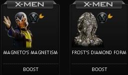 X-Men First Class boosts at Mafia Wars