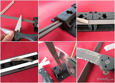 Sharpmaker Schärfmöglichkeiten