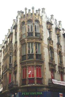 Gijón, Modernismo, edificio calle Corrida 1