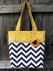 Two Toned Tote & some Tote Tips