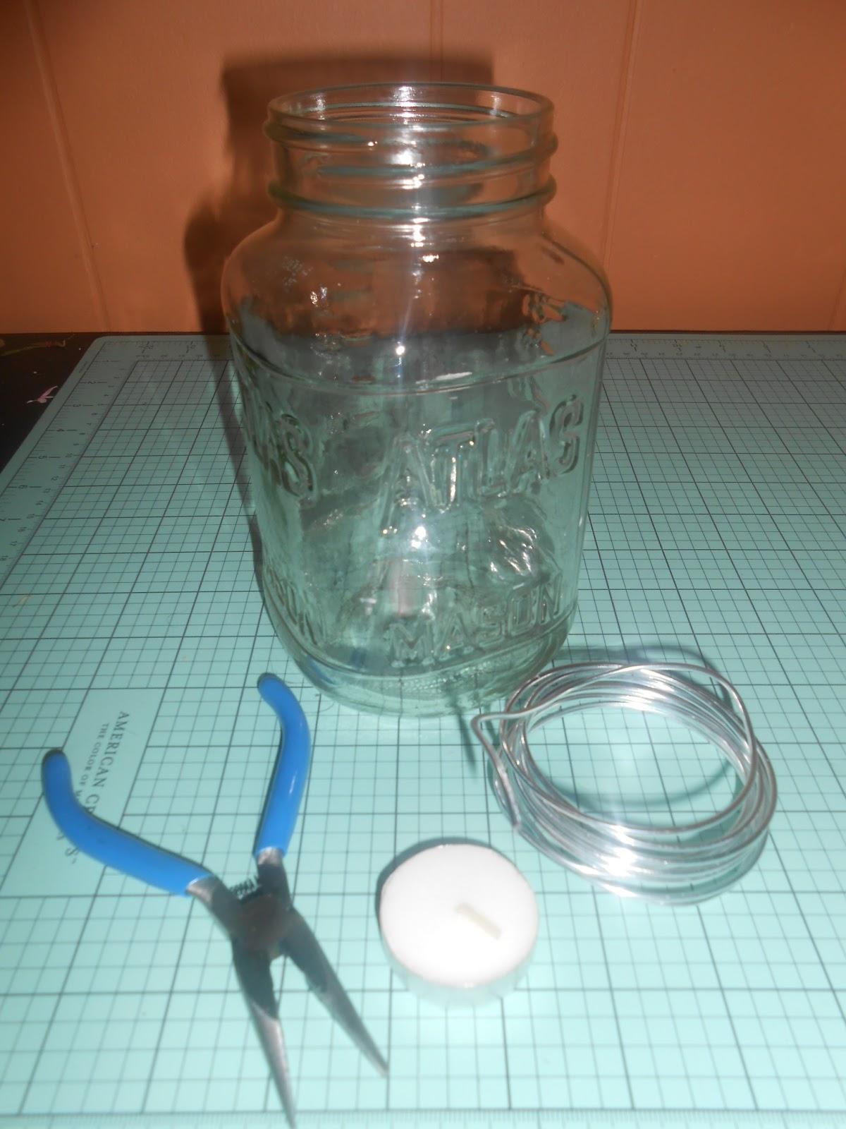 Check it Out! with Dawn: Make It Monday - Mason Jar Candle Lantern