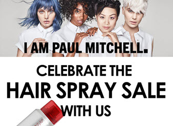 Last week of our Hairspray Sale!