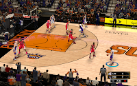 NBA 2K13 Phoenix Suns Court Patch