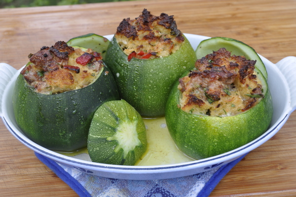 ... zucchini time and for me that means another stuffed zucchini recipe