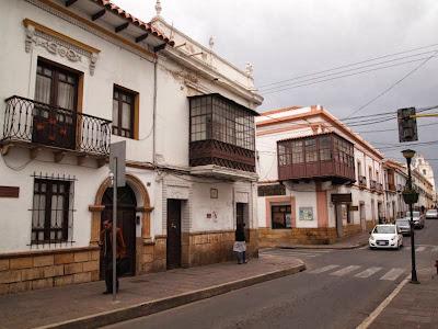 Centro colonial de Sucre