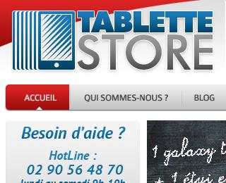 Tablette Store spécialisé dans les tablettes tactiles et leurs accessoires.