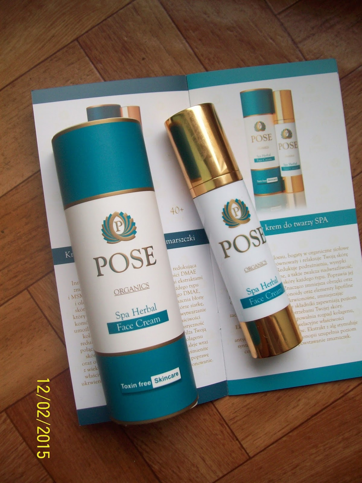 Pose Spa Herbal krem do twarzy