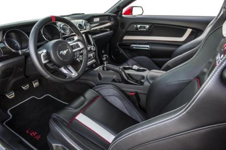 Detalles del Ford Mustang Apollo Edition