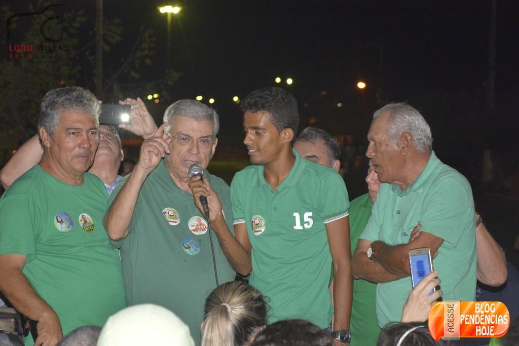 Palestra do 15 com Participação do Senador Garibaldi Alves.