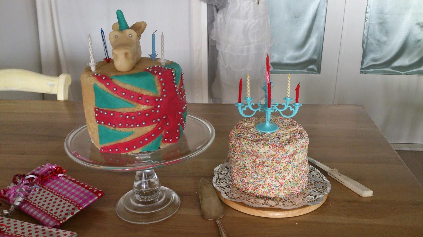 eenhoorn taart