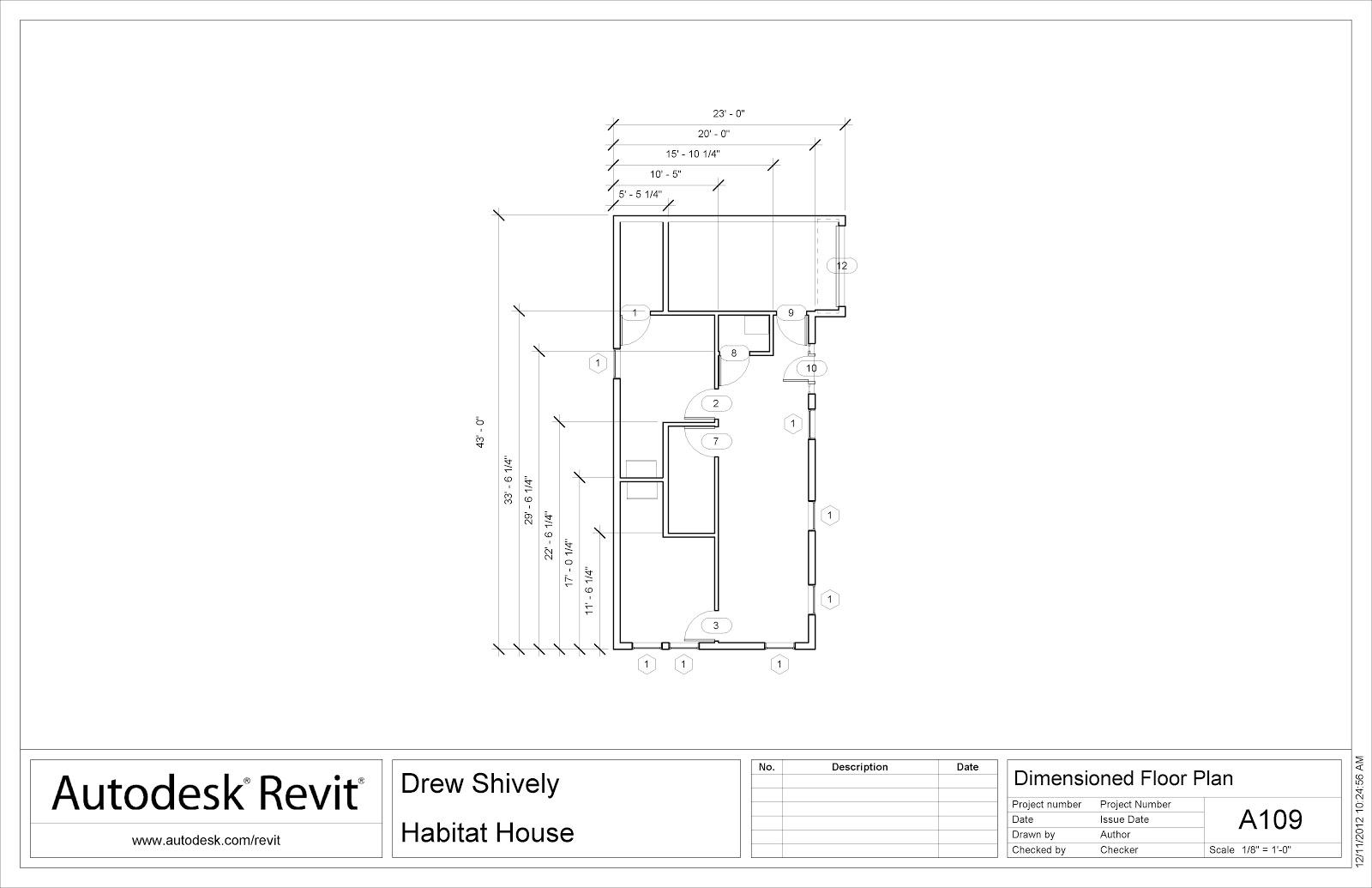 dimesioned floor plans