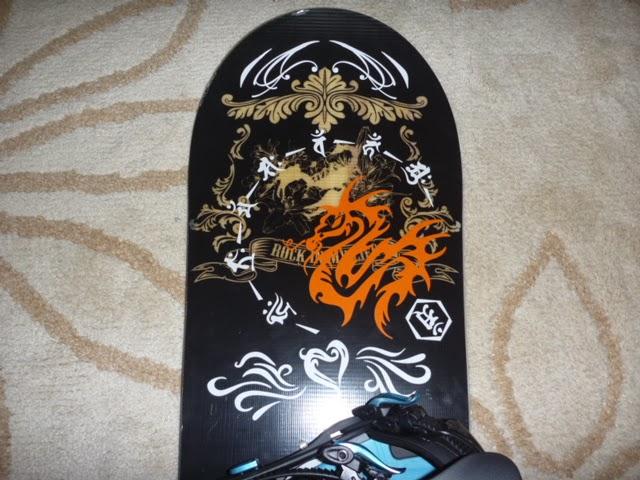 ドラゴンステッカー スノーボード