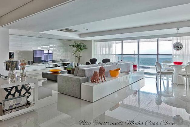 Sala De Estar Toda Branca ~  veja dicas e ambientes lindos decorados # decoracao sala toda branca