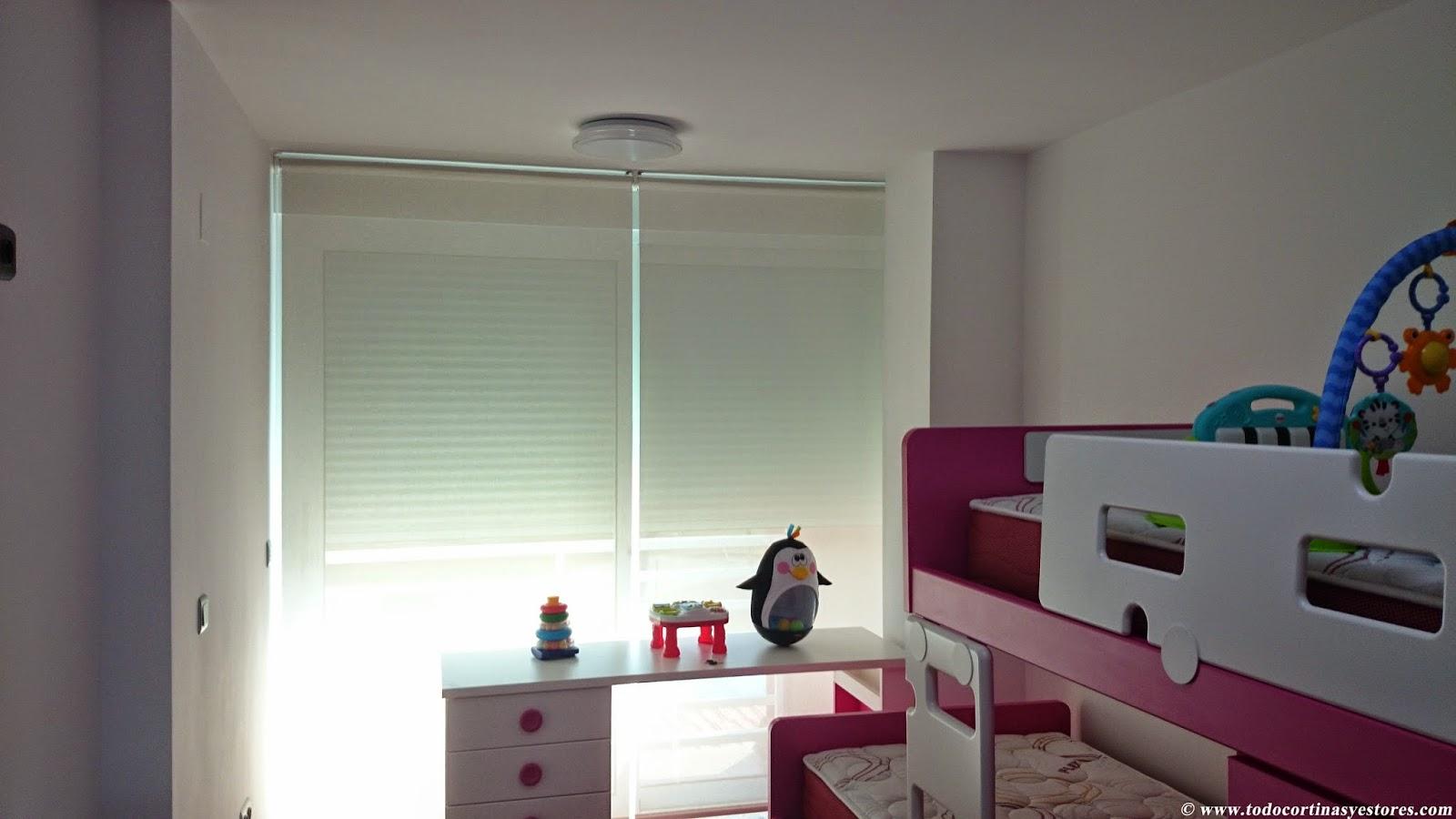 Decoracion interior cortinas verticales estores - Estores para habitacion ...