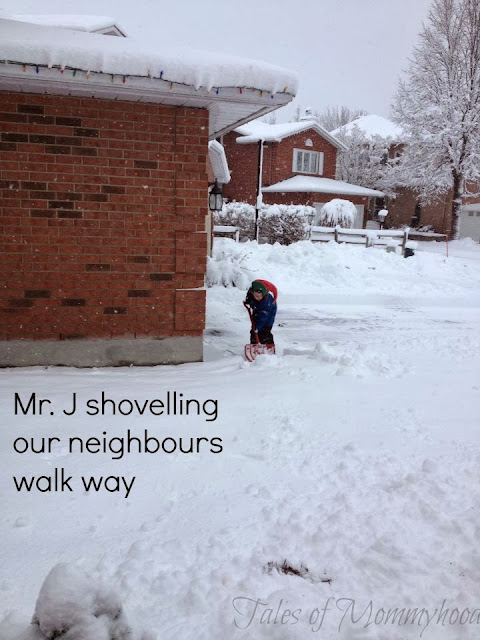 #shop shoveling neighbours