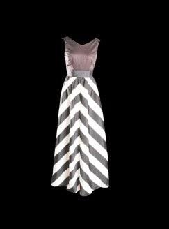 Μαξι βραδυνο φορεμα ασπρο και μπλε