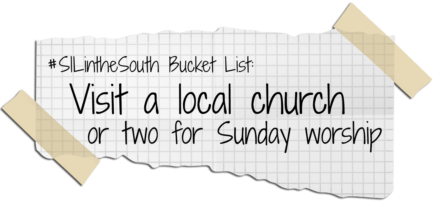 Visit a Local Church for Sunday Worship - Louisiana Summer Bucket List