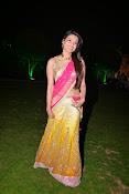 kajal agarwal photos in half saree-thumbnail-16