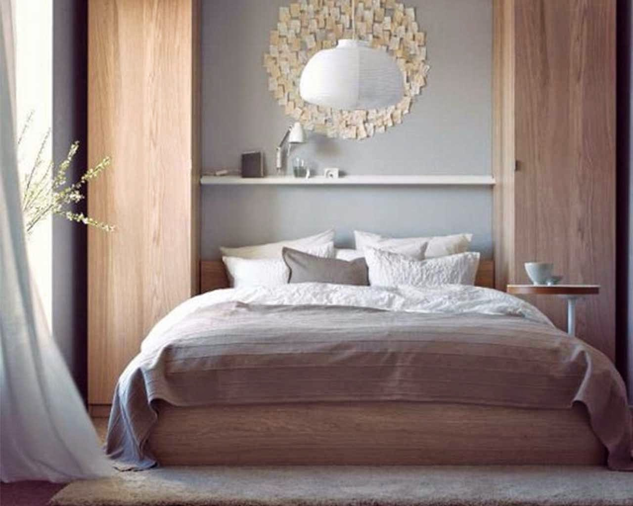 Elegant ikea bedroom concept for girl cool and modern interior