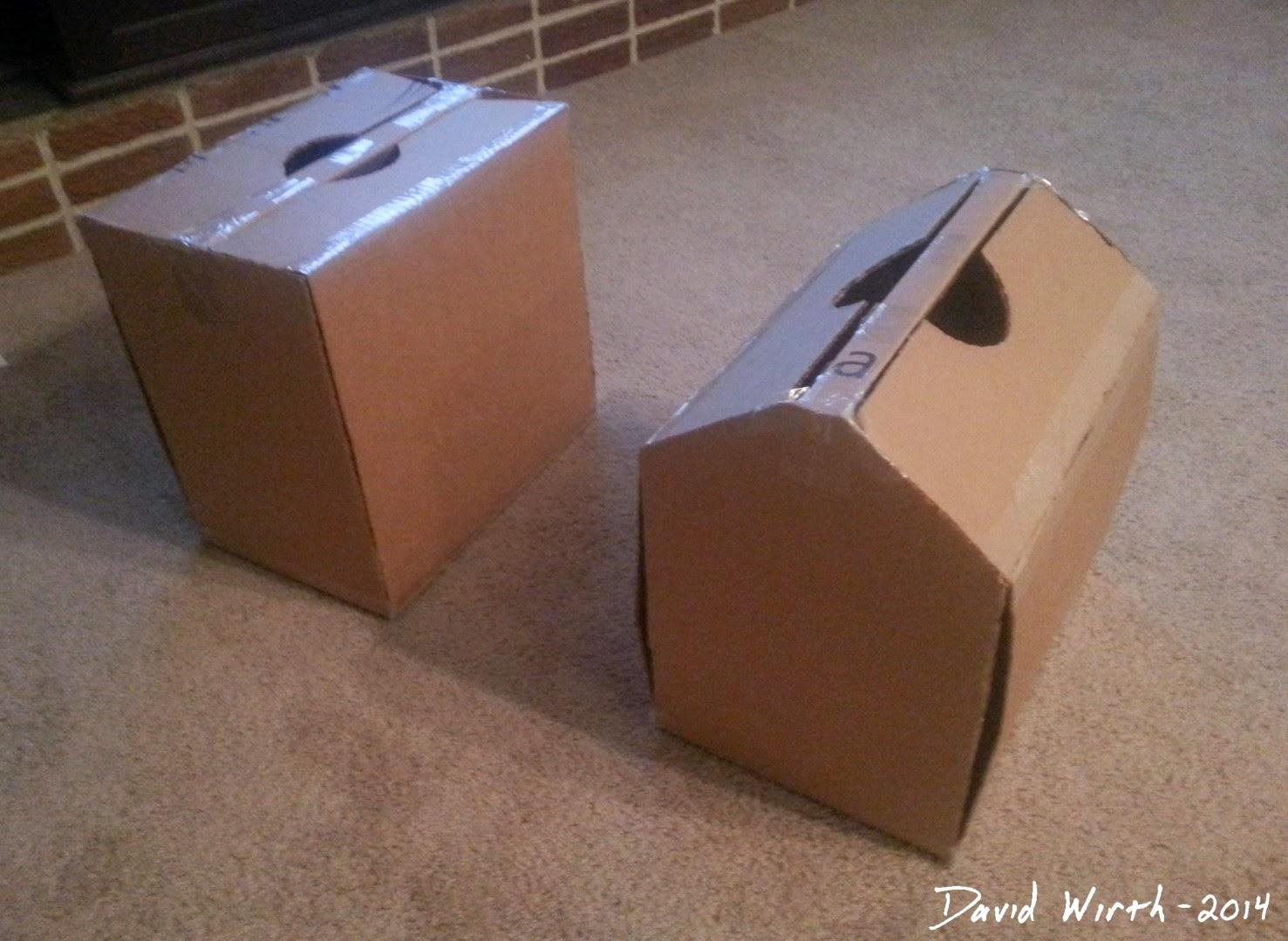tool box test, cardboard, template, plans, pattern