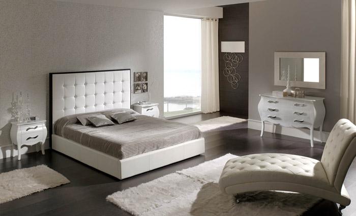 Droom design inrichting slaapkamer - Decoratie witte lounge ...