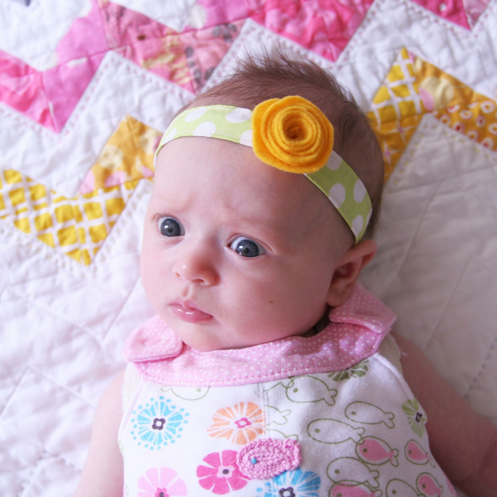 Diy Baby Headband Homemade Ginger This Is So Easy And Couldnt Be Cuter You Don