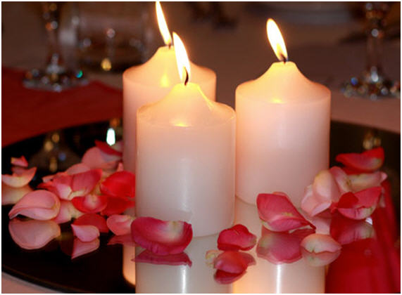 Unique wedding ideas candle wedding centerpieces ideas candle centerpiece junglespirit Images