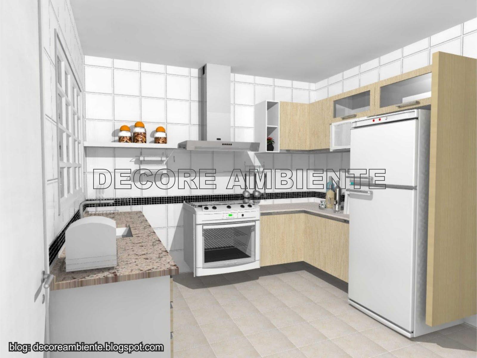 Cozinha padrão com 12m2 10/04/2011 #B56B16 1600 1200