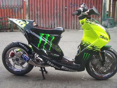 Modifikasi yamaha mio soul Modifikasi Motor