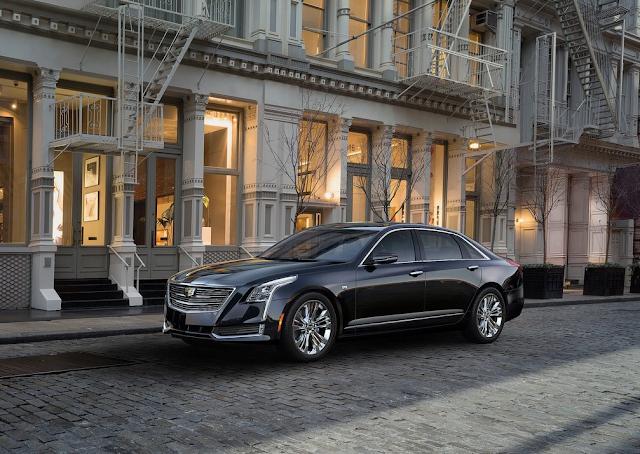 2016 Cadillac CT6 black
