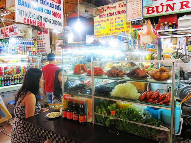 Ben Thanh Market i Saigon