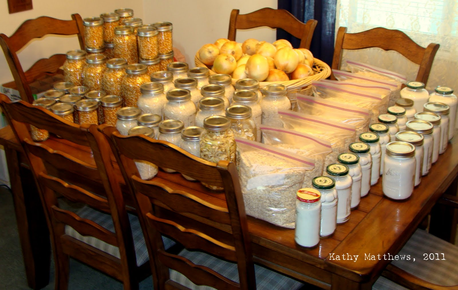 ... and Self-Reliant Living: Buying in Bulk and Food Storage Ideas
