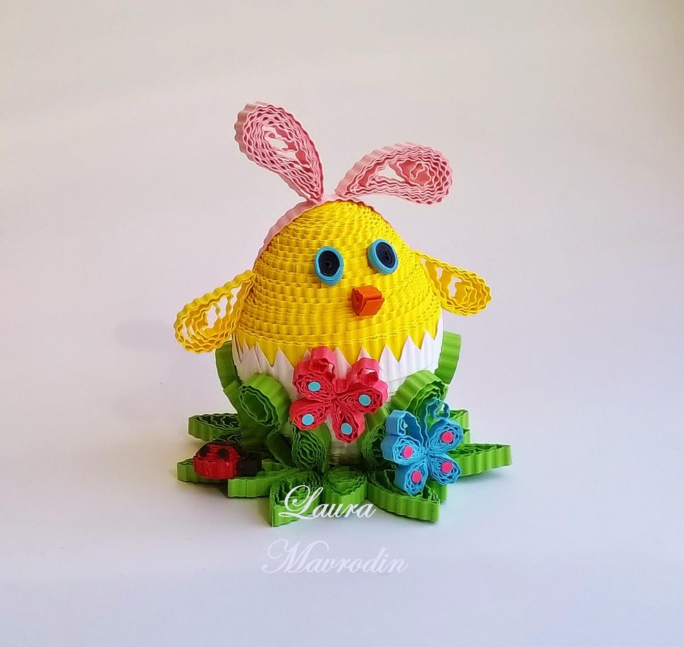 Quilling my passion decoratiuni pt paste easter decorations for Easter decorations for the home pinterest