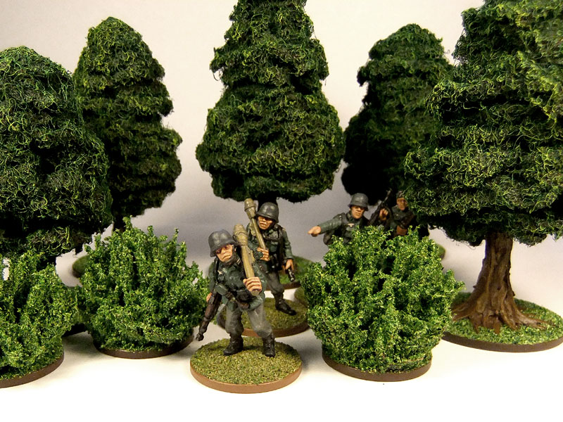 The crooked staff blog small wargaming rpg bushes for Small bushy trees
